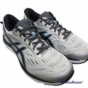 ASICS Men's GEL-Cumulus 20 1011AS008-20 Lace Up Grey/Black Sneakers Size 15